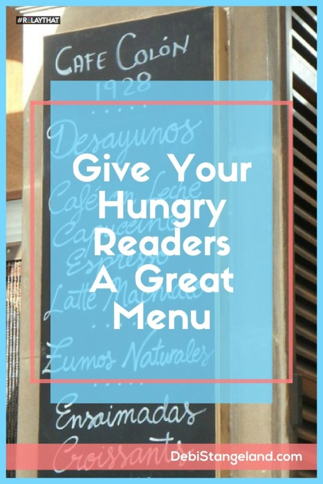 When a new reader comes to your site, it means they are hungry for something. Give them a great menu and they will be sure to come back for more. ★ Learn HOW To Blog ★
