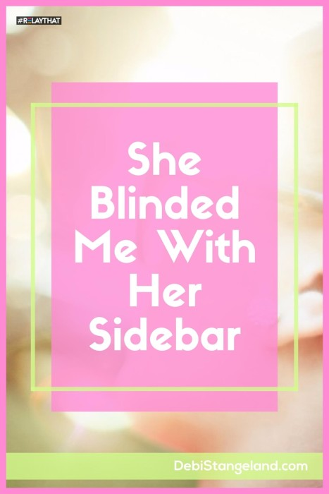 Your sidebar can be one of your greatest assets. Or it can be a disaster just waiting to turn your readers off. Learn how to make it shine, without blinding your readers. ★ Learn HOW To Blog ★