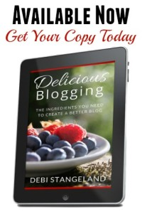 Delicious Blogging ebook AVAILABLE NOW